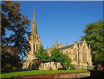 SD5429 : The Minster Church of St. John the Evangelist. Preston by Galatas