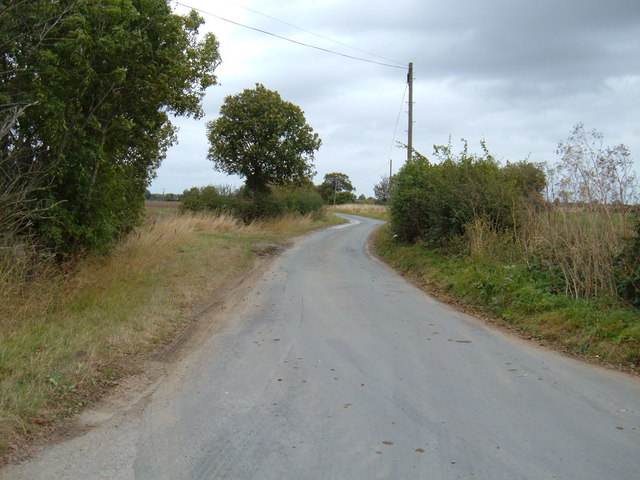 Ings Lane towards Arnold