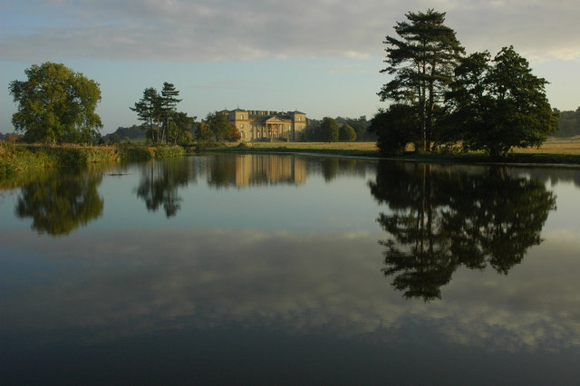 Croome Court at dawn
