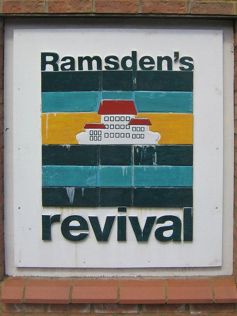 Ramsden's revival plaque