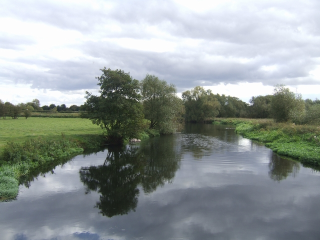 River Trent downstream at Alrewas