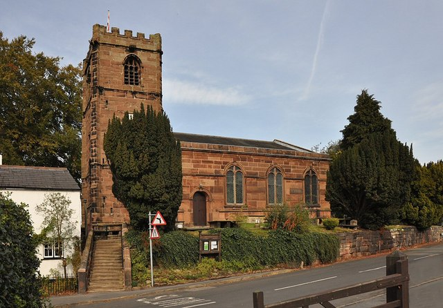 Little Budworth church