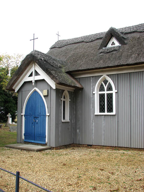 The Chapel of St Mary and St Felix - entrance