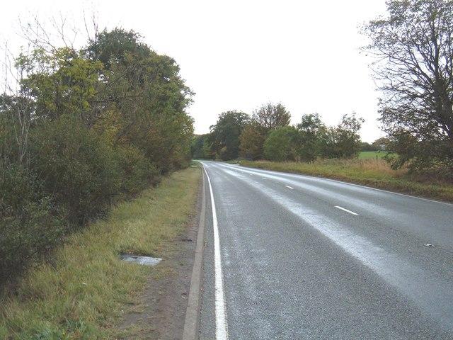 A165 towards Hull