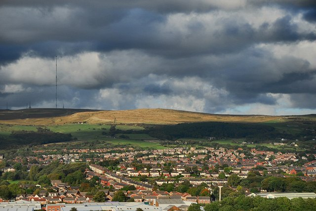 View from Blackrod cemetery