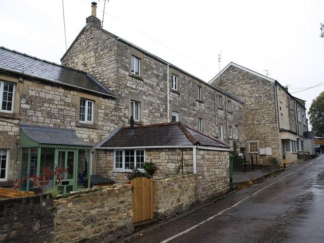 Houses on Welton Road, Radstock