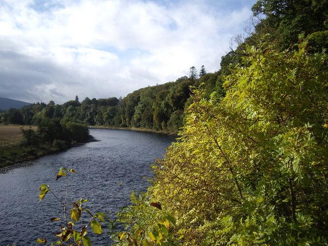 Upstream River Spey