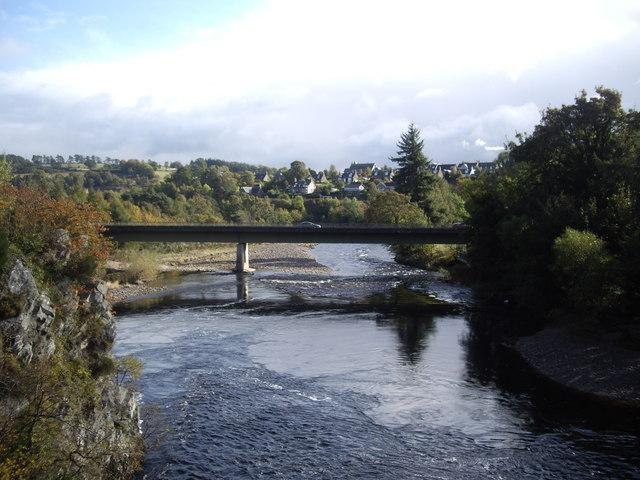Downstream River Spey