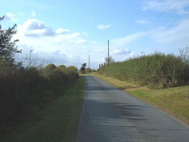 Minor Road Towards Woodhouse Farm