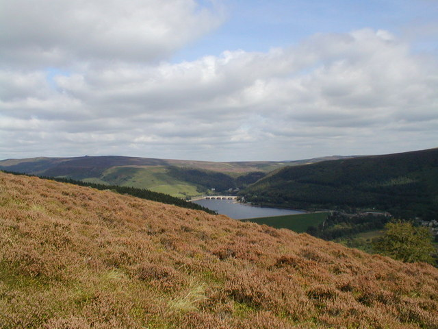 View to Derwent Valley from Win Hill