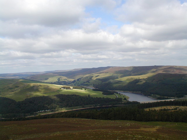 The Derwent Moors from Win Hill