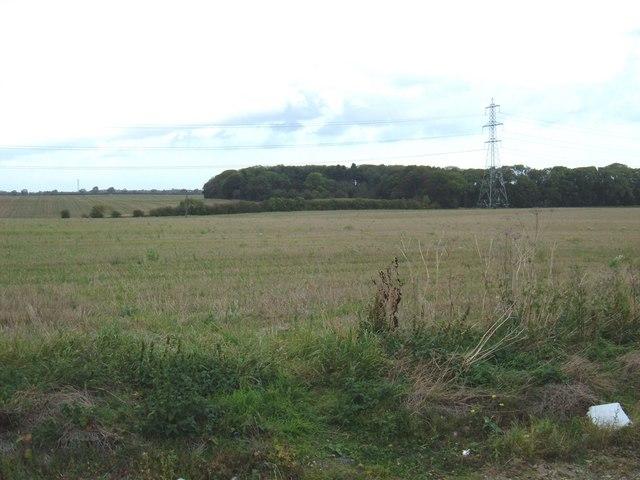 Farmland near Carlam Hill Farm