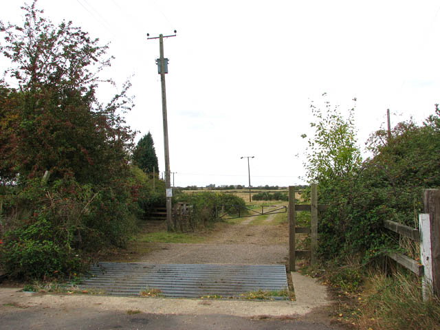 A former level crossing