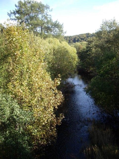 River Spey from Craigellachie Road Bridge