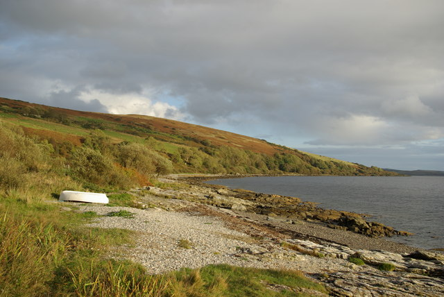Coastline near Clate Point