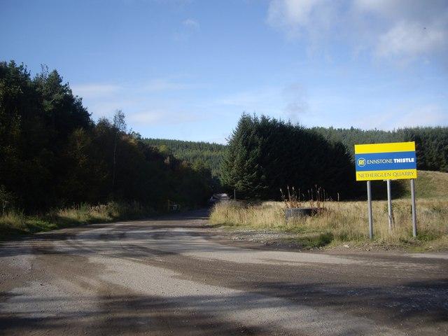 Access to Netherglen Quarry