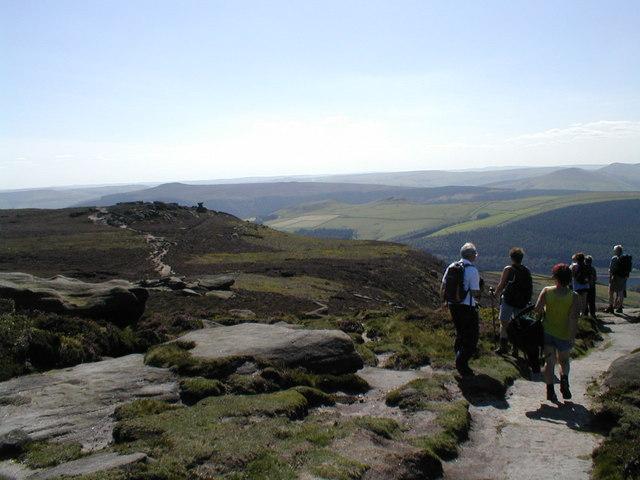 View to the Salt Cellar from Derwent Edge