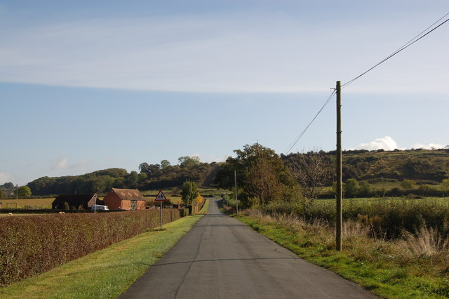 Barn Lane near Corse