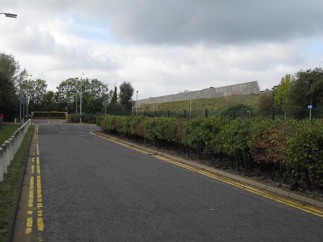 Road round the Regional College