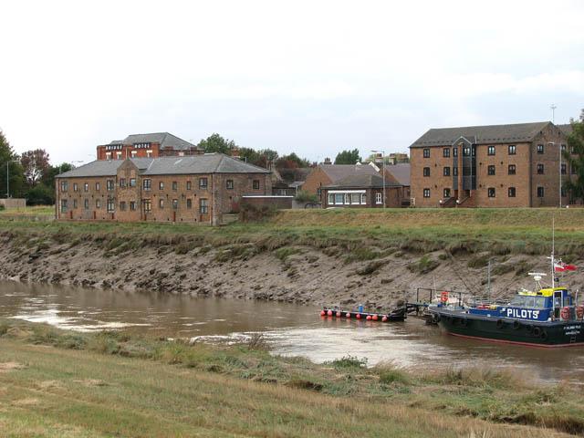 View across the River Nene