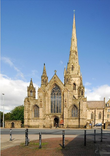 Cathedral Church of St John the Evangelist. Salford