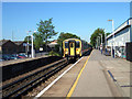 TQ0671 : Windsor to London train arriving at Ashford station by Rachel Keegan