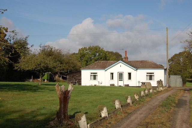 Former Chartist cottage in Mill Lane, Lowbands