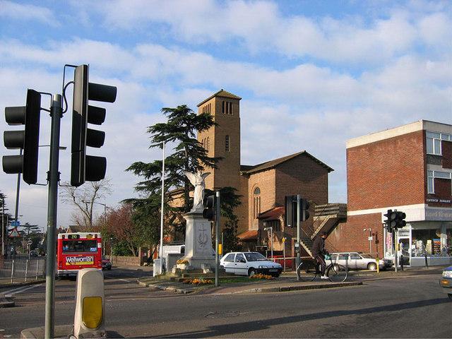 The War Memorial, Ashford, Middlesex
