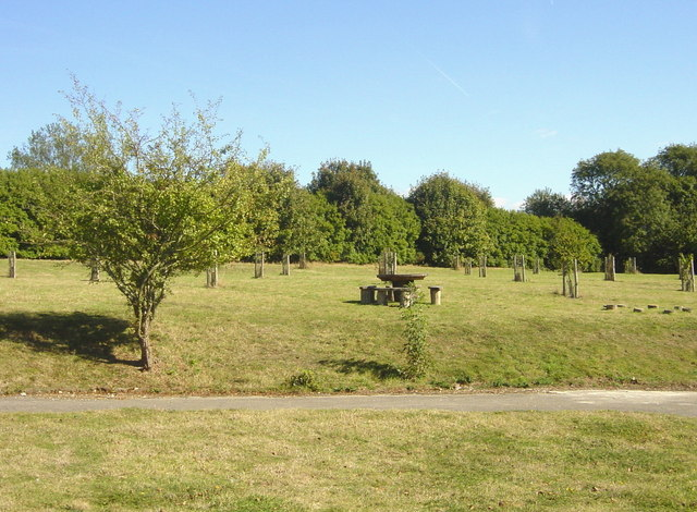 Picnic site off Rayners Lane