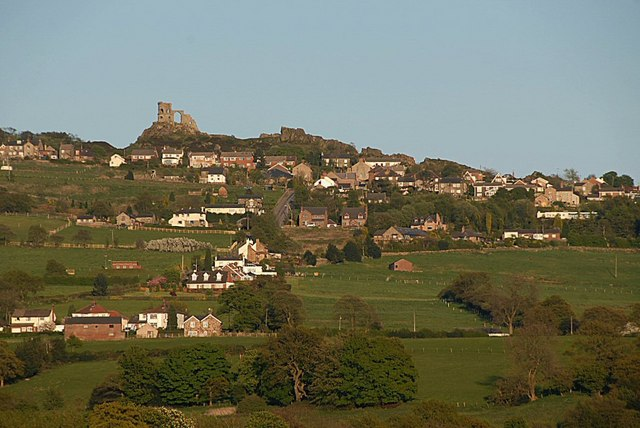Mow Cop viewed from Congleton Road