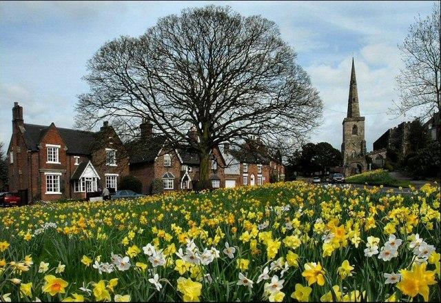 Astbury in Spring