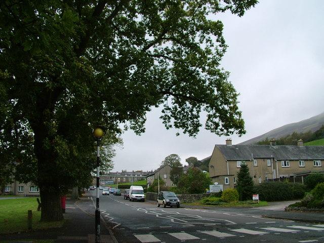 A684 into Sedbergh