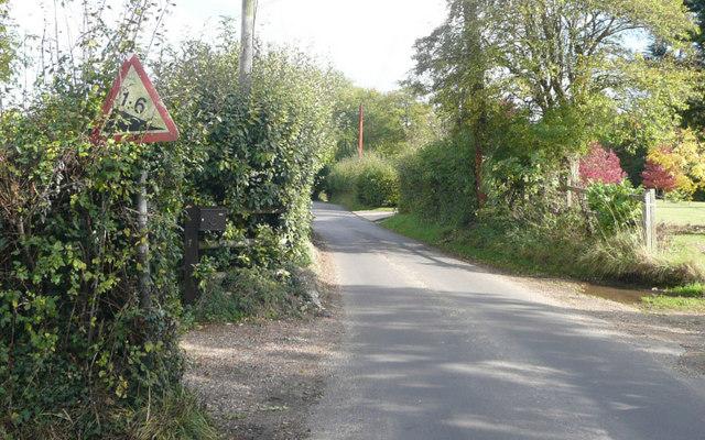 Hatham Green Lane - Steep Hill 1:6