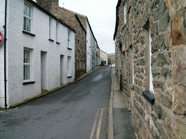 Narrow street, Sedburgh