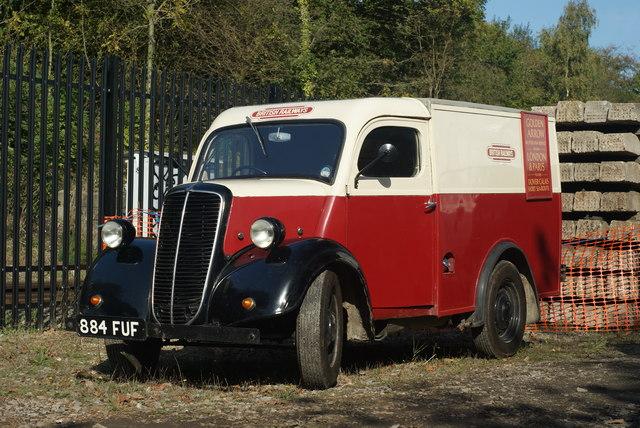 Fordson van at East Grinstead