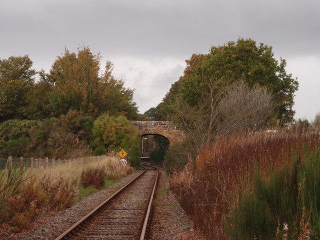 Entering Culrain station