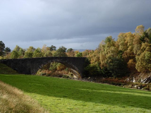 Bridge over River Carron