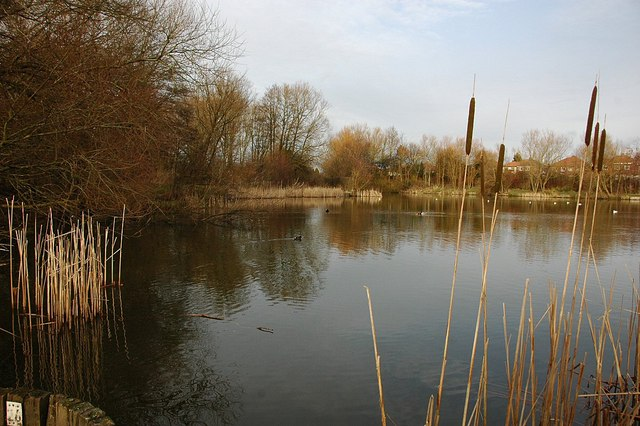 Platts Lane lake