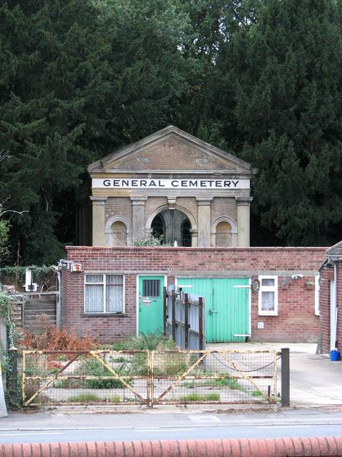 Leverington Road Cemetery Chapel