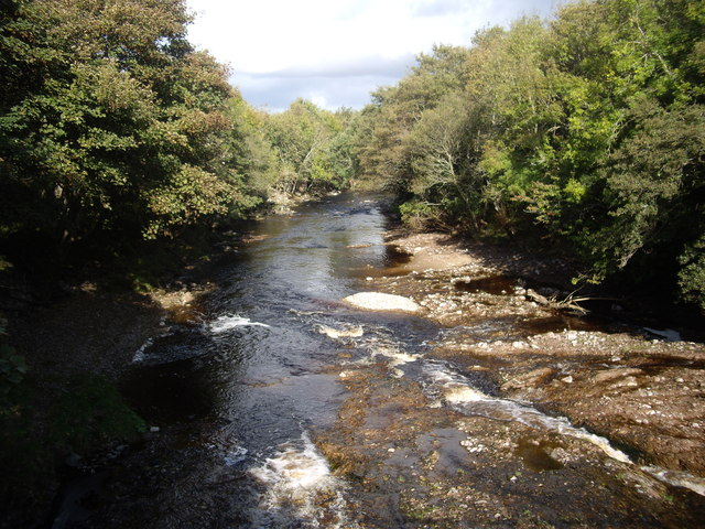 Downstream River Lossie