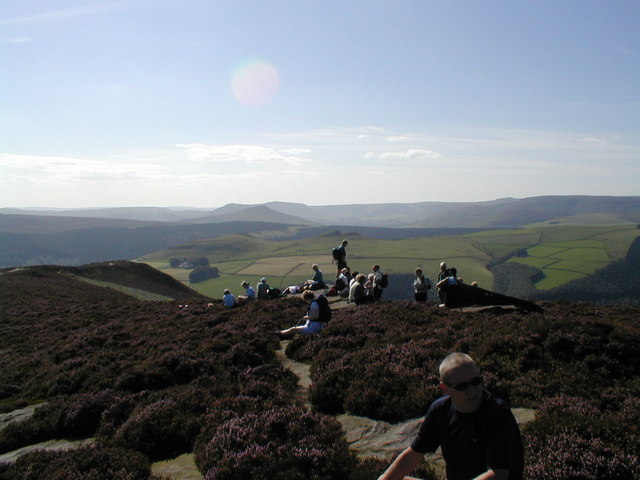 View W/SW from the Hurkling Stones, Derwent Edge