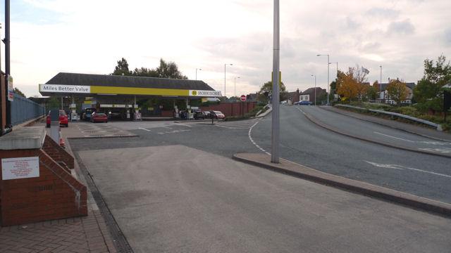 Morrisons' Filling Station, Cheadle Heath