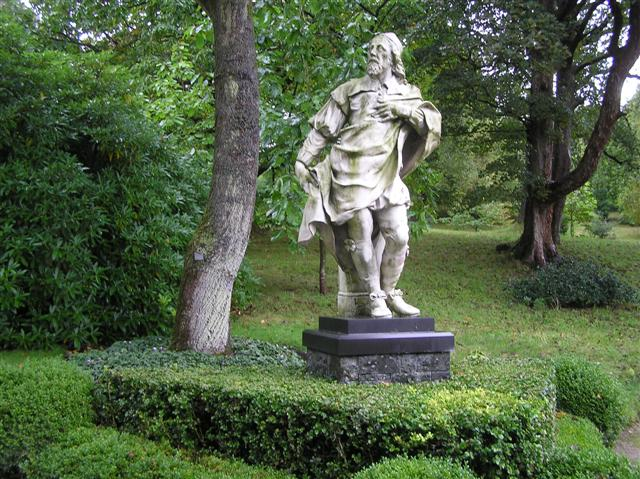 Inigo Jones statue, Holker Hall