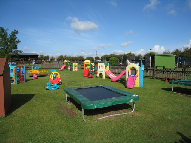 Under 8 play area
