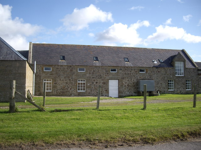 A converted steading, Cloddach
