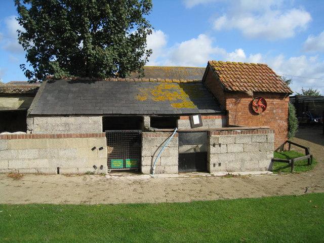 Pig Pen - Finkley Down Farm