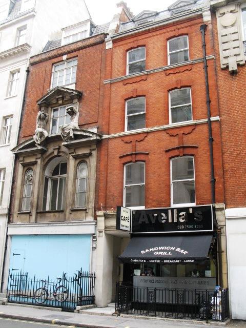 Avella's Café, Mortimer Street, W1