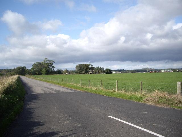 B9010 north from Cloddach