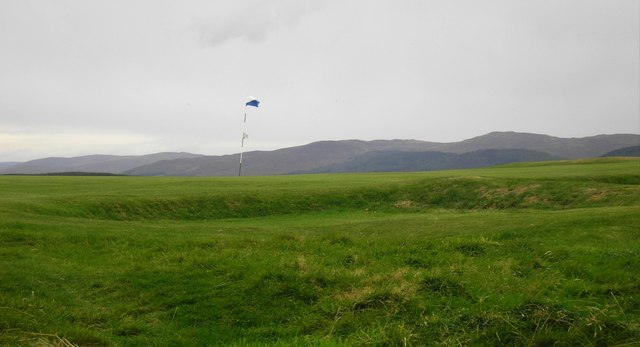 Looking West from Selkirk Golf Course to the Minch Moor