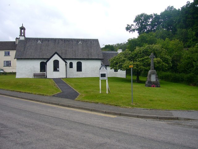 Church of Scotland Church, Craignure, Isle of Mull.